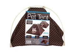 Kole KI-OF413 Portable Pet Tent with Soft Fleece Pad, One Size -- Want additional info? Click on the image.