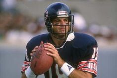 Mike Tomczak # 18 Chicago Bears QB College:Ohio State