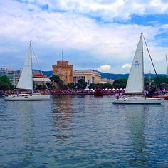 Sailing in Thessaloniki