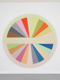 Frank StellaSinjerli III, 1967, Polymer and fluorescent polymer paint on canvas