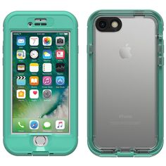 LifeProof NUUD Waterproof Case for iPhone 7 Mermaid Teal 77-54283 Authentic #LifeProof