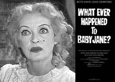 Amazingly, a couple of years after What Ever Happened to Baby Jane?, Davis and Crawford did actually agree to work together again, on Hush...Hush Sweet Charlotte. However, after a few days filming, during which Davis was even more poisonous than usual (she had not forgotten the Oscar night humiliation) Crawford feigned an illness and pulled out of the movie.  They never worked together again after that, and there were no more recorded encounters.