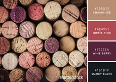 101 Color Combinations to Inspire Your Next Design – Wine Color Palette