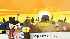 Fiete - A day on the farm: Your children will get a fun, imaginative look into daily farm life - App Saga Ipod Touch, Milk The Cow, Iphone Deals, Ios News, Ios Update, Hand Painted Textures, Life App, Best Apps, App Store