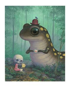 Created by: art artwork surrealism illustration oilpainting painting fantasy dreamsequence fineart modernart nature salamander thomasascott 3 day ago noertz Collage Maker, Collage Art, Graphic Design Illustration, Illustration Art, Art Illustrations, Fashion Illustrations, Gothic Fantasy Art, Thing 1, Macabre Art