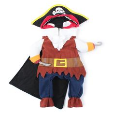 Funny Pet Cat Pirate Suit Clothes for Cats Halloween Kitten Costumes Corsair Clothing Dressing Up Cat Party Costume Suit Dog Pirate Costume, Pirate Cat, Pirate Halloween Costumes, Cute Costumes, Dog Costumes, Halloween Cat, Halloween Christmas, Puppy Costume, Costume Chat