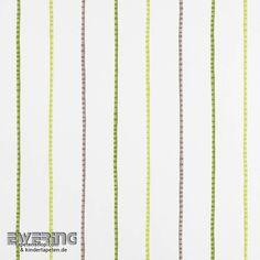Casadeco Alice & Paul 36-AEP17747418 Dekostoff grün Streifen
