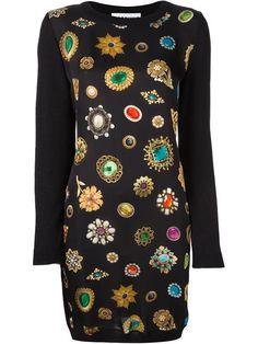 1255d03678 Moschino jewel print mini skirt | Jewel & Gemstone Prints in 2018 ...