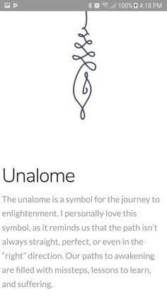 The unalome is a symbol for the journey of enlightenment.{Unalome} The unalome is a symbol for the journey of enlightenment. Unalome Tattoo, Simbols Tattoo, Tattoo Forearm, Truth Tattoo, Wisdom Tattoo, Future Tattoos, New Tattoos, Body Art Tattoos, Cool Tattoos