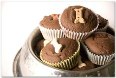 Homemade Pupcakes // Cupcake Dog Recipe