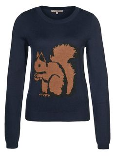 Squirrel sweater by mint&berry