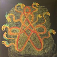 Uit de verhalen over Herakles. De Hydra van Lerna.