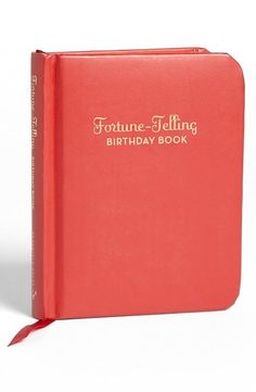 Great Gift! Fortune-Telling Birthday Book.