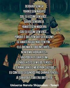 Eu assim sem você versão Naruto