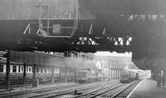Manchester Victoria station, how it was.........I can still remember the smells !