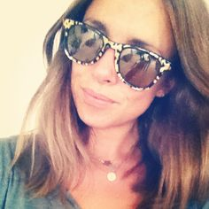 Gold mirrored Carrera for Jimmy Choo sunnies  worn by Anneli WIllis via instagram