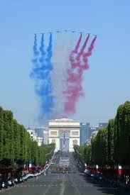 bastille day arc de triomphe