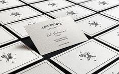 Tom Reid's Bookstore Business Card #branding #visualidentity #logodesign #corporateidentity #stationery