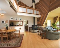 Interior Balcony Railings With Cathedral Ceiling Design, Pictures, Remodel, Decor and Ideas - page 49
