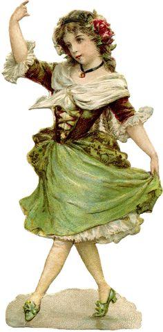 Young Dancing Girl Image                                                                                                                                                                                 Mehr