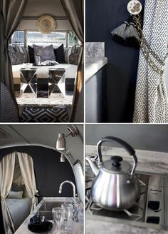 Exotic glamping style
