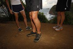 Técnica de descenso en trail running