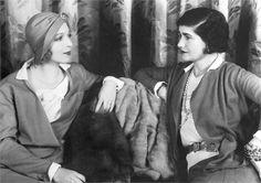 Coco Chanel e Ina Claire 1931