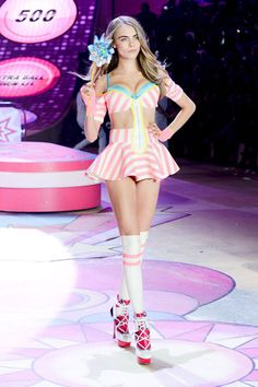 The Victoria's Secret Fashion Show 2012 - Cara Delevingne