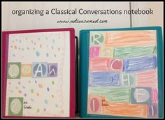 Do you want to create a Classical Conversations notebook? Learn how to organize one that will work for you!