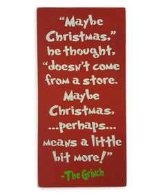 Hang this colorful Grinch-inspired sign in your home to celebrate the spirit of Christmas.