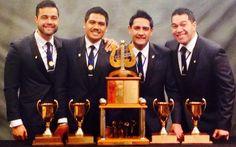 Musical Island Boys, New Zealand International Quartet Champions 2014