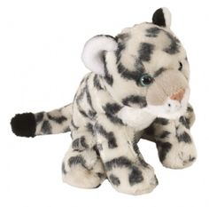 Cuddlekins Mini Snow Leopard Baby (8-inch) at theBIGzoo.com, a toy store that has shipped over 1.2 million items.