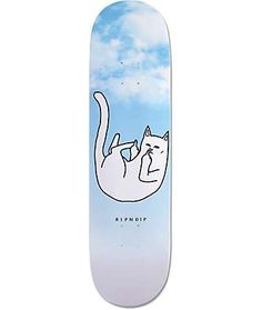 RIPNDIP Falling For Nermal Skateboard Deck We like Bikes To Dope Boards! Anything made to Ride Hard and go Fast on Earth We Love it. Skateboard Deck Art, Skateboard Design, Custom Skateboards, Cool Skateboards, Skate Bord, Rip N Dip, Tech Deck, Ultimate Frisbee, Skate Decks