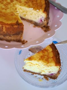Makuja kotoa: Ihan paras vadelmajuustokakku #vadelma #juustokakku