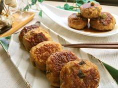 コリふわポップ♬鶏つくね✿粉豆腐&干椎茸