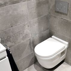 bathroom remodel tips is entirely important for your home. Whether you choose the bathroom remodel wainscotting or minor bathroom remodel, you will make the best serene bathroom for your own life. Toilet Room, New Toilet, Toilet Tiles Design, Toilet Decoration, Serene Bathroom, Happy New Home, Dark Bathrooms, Downstairs Toilet, Small Bathroom Storage