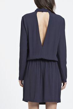 Dee t-neck dress 6515 - 1