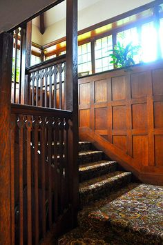 Arts & Crafts | Craftsman | Bungalow | Staircase