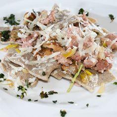Maltagliati saraceni ai profumi di montagna  #recipes #italianfood #pasta