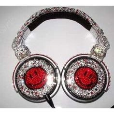 Swarovski Crystal headphones