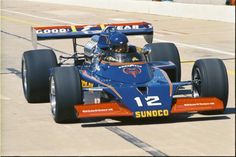 1973 Indy with Bobby Allison in the Penske McLaren Indy Car Racing, Real Racing, Indy Cars, Indianapolis Motor Speedway, Classic Race Cars, Sprint Cars, Vintage Race Car, Drag Cars, Car And Driver