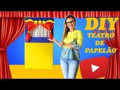 DIY Teatro de Caixa de Papelão | 2 Modelos Diferentes - YouTube