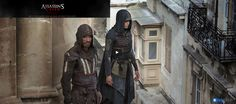 Assassin's Creed Movie Ariane Labed and Michael Fassbender Image 3 The Assassin, Assassins Creed 2, Michael Fassbender, Toni Erdmann, Assassin's Creed Wallpaper, Suicide Squad, Connor Kenway, Creed Movie, Video Game Movies