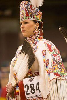 Daneta Goodwill, Wazhazhi woman @ San Carlos Powwow| Photographer  Powwow 2014 | Kenneth Chan Photography
