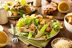 Image via We Heart It #Chicken #delicious #food #foodporn #healthy #salad #yummy