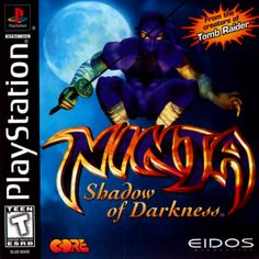 Online Video Games, Used Video Games, Ninja Shadow, Beat Em Up, Playstation Games, Ps4, Xbox, The Dark Crystal, Game Logo