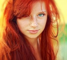 freckles & red hair