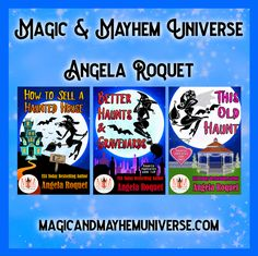 Follow Dylan and Margo in Angela Roquet's series within a series in the Magic & Mayhem Universe.  #MagicMayhemUniverse #ebook #pnr #UnleashTheMagic #MMUSeries #paranormal #author #reading