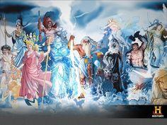 nuestro trabajo de arte para History channel latam, artista Adrian Sibar