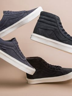 'Lite' Vans are perfect for stunting this season, minus the heaviness you'd expect in a suede sneaker.